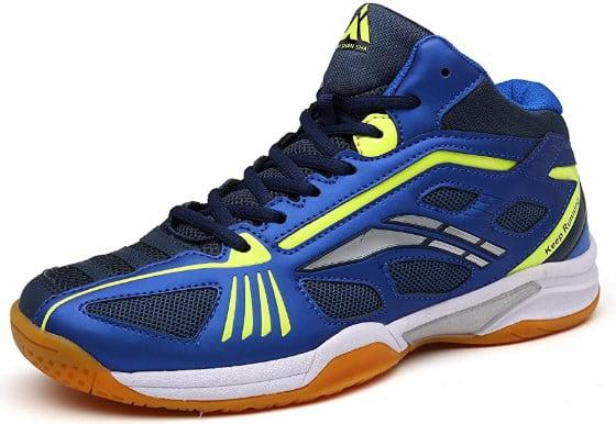 Mishansha Men's Court Squash Badminton Tennis Shoes Indoor Outdoor Non-Slip | Footwearguider.com