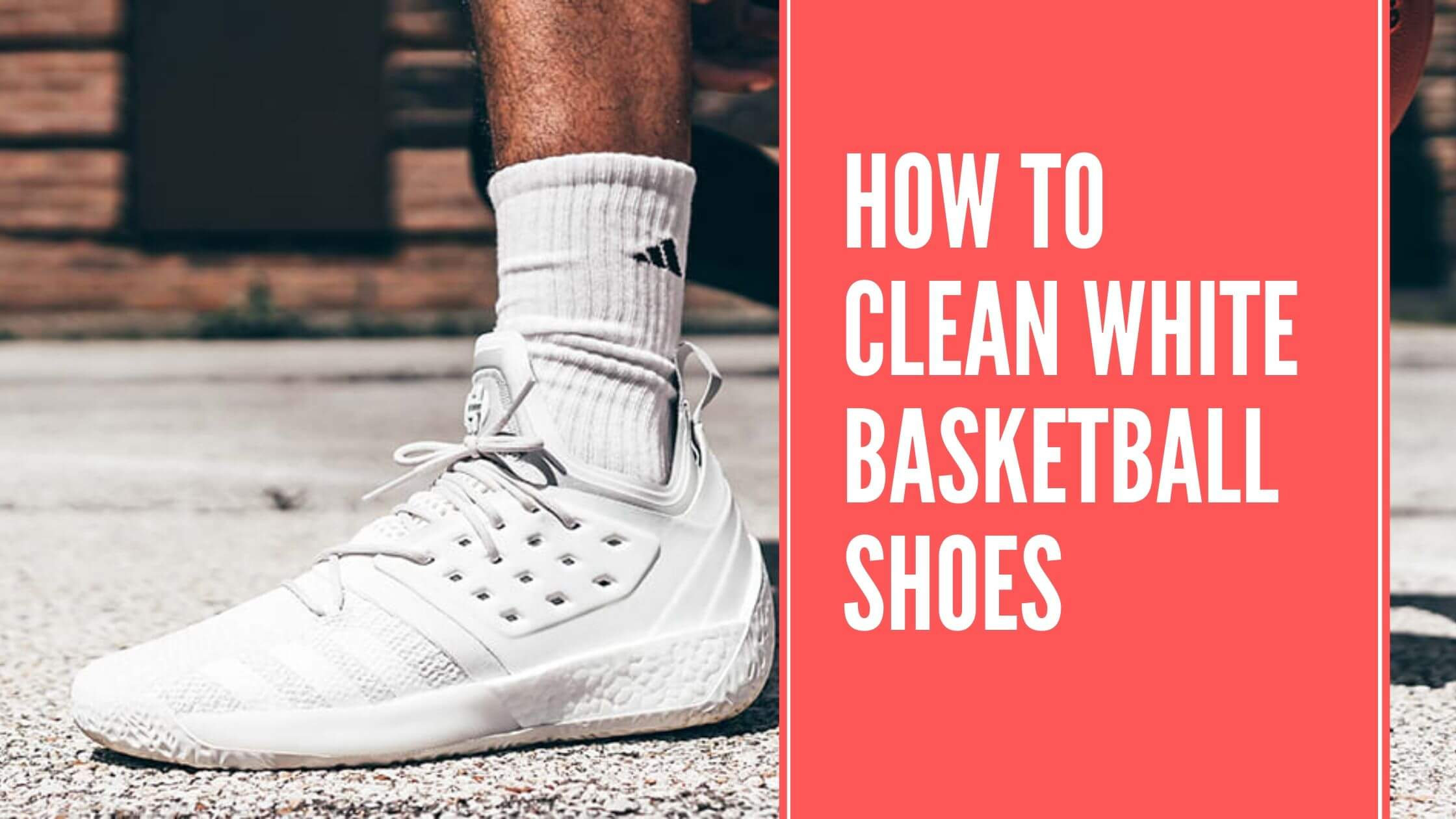 how to clean white basketball shoes by footwearguider.com